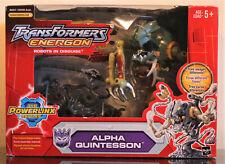 Transformers Energon Mega Class ALPHA QUINTESSON Action Figure, MISB 2005 Hasbro