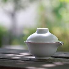 Teiera in porcellana verde chiaro e tazza da tè Gongfu Set da viaggio 150ml