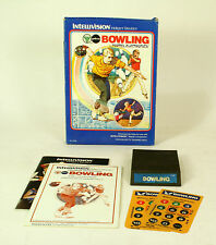 Intellivision boxed game Bowling CIB Tested & Working