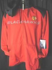 Chicago Blackhawks NHL Men's G-III Front Zipper Hooded Sweatshirt