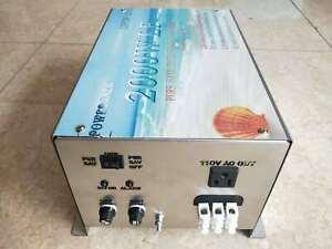 2000W LF SPLIT PHASE Pure Sine Wave Power Inverter DC 12V to AC 110V/220V 60Hz