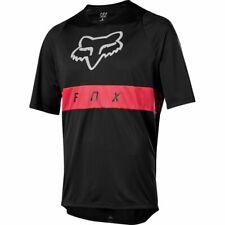 Fox Racing Defend Short Sleeve s/s Moth Jersey Black