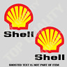 RETRO SHELL GASOLINE OIL Decal Sticker X2 Vintage Moto Mancave Garage Stickers