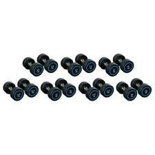 Vector X Cast Iron Rubber Coated Dumbbells (Pair)