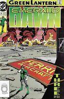 Green Lantern Comic Issue 3 Emerald Dawn Copper Age First Print 1990 Giffen DC