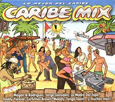 CARIBE MIX - LO MEJOR DEL CARIBE - 2 CD COMPILATION