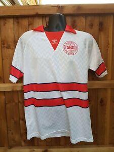 Denmark 1988 Hummel Away Football Shirt - Large