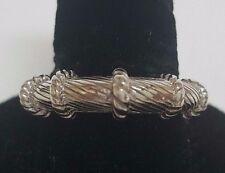 Judith Ripka JR 925 Sterling Silver Ring Size 11