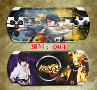 Naruto Sasuke Battle Skin Sticker Cover for PSP3000 Protector Decals for PSP2000