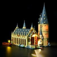 Light Kit for Lego 75954 Harry Potter Hogwarts Great Hall Building Blocks Model