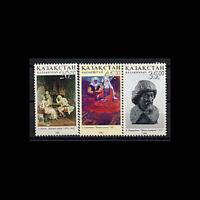 Kazakhstan, Sc #422-24, MNH, 2003, Art, Arturo Ricci, Nauryzbaev, RDDAS8P-B