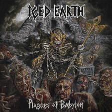 ICED EARTH - Plagues of Babylon Deluxe Ed. CD/DVD Digipak 2014 Century Media