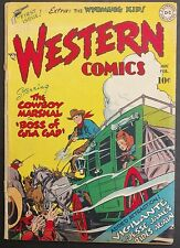 WESTERN COMICS D.C.1948 #1 KEY ISSUE TOUGH TO FIND SOLID VG 1ST WYOMING KID!!