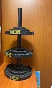 Espositore nero 3 piani porta clipper piccoli 144 pezzi