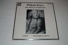 William Boyce~The Twelve Overtures~Cntilena~Adrian Shepherd~MHS~FAST SHIPPING