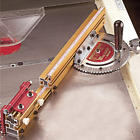 INCRA MITER3000SE Miter Gauge  27-49- inch Telescoping Fence & Flip Shop stop