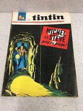 TINTIN  N°889 17e ANNEE  4 NOVEMBRE 1965 REVUE MAGAZINE VINTAGE