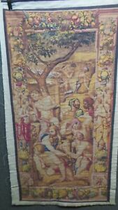 PRINCE OF DREAMS bronzino print TAPESTRY style WALL HANGING USED IN THEATRE