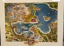 Disney WDW 2011 cast members.40th aniv, Contemporary Bay Lake area map 5 Pin Set