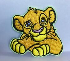 DISNEY LION KING SIMBA  CHARACTER  EMBROIDERED APPLIQUÉ PATCH SEW IRON ON
