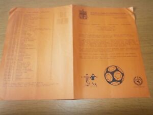 09/08/1994  DULWICH HAMLET v CRYSTAL PALACE - 4 PAGE - FRIENDLY