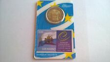 San Marino 2012 Stamp & Coincard (€ 0,65 en € 2,00)
