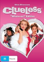 "Clueless DVD FUNNIEST ACTRESS Alicia Silverstone ""WHATEVER"" EDITION R4 vgc"