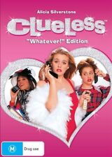 """Clueless DVD vgc  FUNNIEST ACTRESS Alicia Silverstone """"WHATEVER"""" EDITION R4"""
