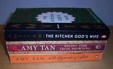 Lot 3 Books by Amy Tan  Saving Fish from Drowning 034546401X;  0142004898