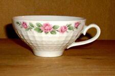 Eschenbach 1 Tasse vom Teegedeck rosa  Blumendekor, Rautenmuster