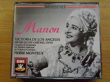 Manon MAssenet Victoria De Los Angeles CMS7635492 Pierre Monteux 07777635492 3CD