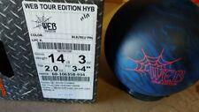 NEW 14lb Hammer Web Tour Hybrid Bowling Ball 42188