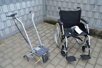 Alber Viamobil V25 mit Meyra  Faltrollstuhl Sitzbreite 54,5cm Schiebehilfe ** 1A