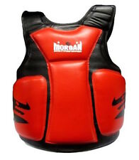 ENDURANCE PRO BOXING BODY PROTECTOR TRAINING BELLY CHEST PAD GUARD KICK SHIELD
