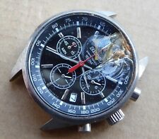 Seiko 100M chronograph watch for parts or repair, 6T63-00D8 R2.