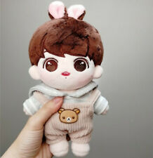 20cm KPOP Bangtan boys Sweet JUNGKOOK Plush Doll Toy Original【without clothes】