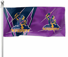 MELBOURNE STORM NRL Pole Flag LARGE 1800x900mm (Pole not included) Game Day!