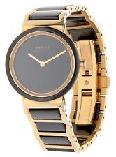 BERING Damen Armbanduhr Ceramic schwarz 10729-746