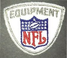 NFL EQUIPMENT EMBROIDERED JERSEY SHIELD/LOGO PATCH, REEBOK..RUNNING OUT!!!