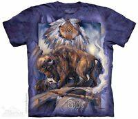 Against All Odds T-Shirt by The Mountain. Wild Bull Zoo Animals Sizes S-5X NEW