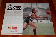 1984 Big Ben Port Adelaide SANFL Team Card Poster Craig Bradley