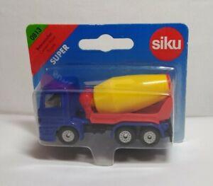SIKU Mercedes Betoniera - Blu - #0813 - Sigillato Confezione Blister - Lungo