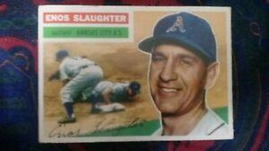 1956 Topps Enos Slaughter #109 Baseball Card