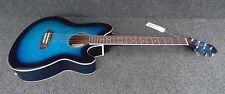IBANEZ TALMAN TCY10E-TBS Acoustic-Electric Guitar BLUEBURST STRAT STYLE