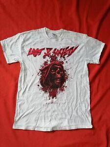 LOST SOCIETY Shirt Größe M - weiß - Thrash Metal