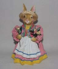 Midwest Imports Cloth / Paper Mache Girl Bunny  Easter - S4