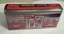 COCA COLA CANDY TIN Sunset Diner Retro 1950's Style Train Car Coke Box