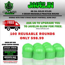 Javelin First Strike Style .68 Caliber 4 Gram Reusable Nylon Hard Rounds