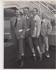 J.Colonna, C.Kemper, B.Hope, D.Barclay Departing LA for NY- Press Photo