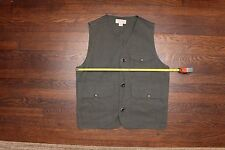 Filson Made In USA Antique Cloth Vest